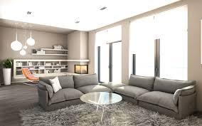 Wohnzimmer Ideen Ecksofa Grau Beige Kombinieren Wohnung