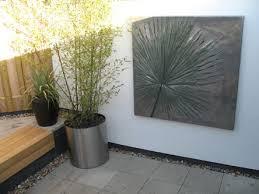 modern garden wall art interiors design