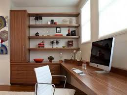 Modern Built In Desk by Appealing Modern Home Office Furniture With Wall Mount Wooden Desk