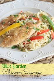 Olive Garden Family Style Copycat Olive Garden Chicken Scampi Diary Of A Recipe Collector