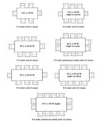 Dining Room Table Sizes Standard Dining Room Table Dimensions