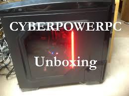 amazon cyberpowerpc black friday cyberpowerpc x99 new i7 5820k u0026 ddr4 ram computer unboxing youtube