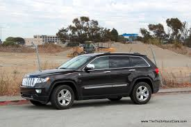 gray jeep grand cherokee with black rims review 2013 jeep grand cherokee overland summit the truth about