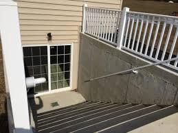 walk up basement home design