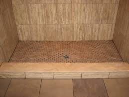 travertine tile stall shower with marble sill and traverti u2026 flickr