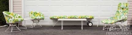 Retro Patio Furniture 16 Piece Vintage Homecrest Patio Set All Original Magically