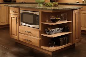 kitchen island microwave where to put the microwave in your kitchen