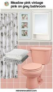 Pink And Black Bathroom Ideas Retro Pink Bathroom Livegoody