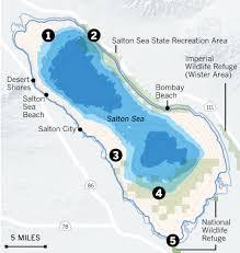 drought drawdowns and death of the salton sea la times