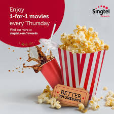 singtel 1 for1 movies promotion