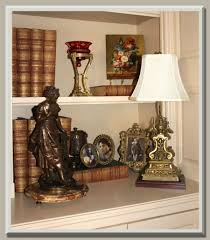 antique lamp created from the antique andiron and antique