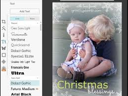 make your own christmas photo cards free online youtube