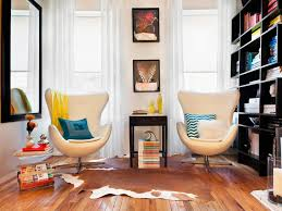 Small Living Room Design Ideas And Color Schemes HGTV - Living room design for small house