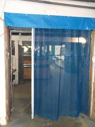 Overhead Door Curtains Industrial Garage Door Curtains Warehouse Mesh Screens