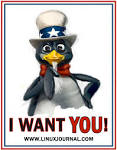 Tux For President » Blog Archive » Free Stickers