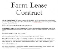 land lease agreement template access to land americasnewfarmers org