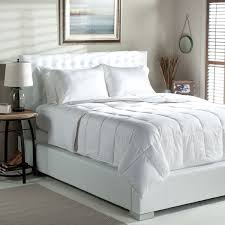 100 Percent Goose Down Comforter Tommy Bahama Stripe Oversized Lightweight White Goose Down