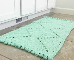 crochet rug patterns free grow creative free crochet pattern cotton aztec rug
