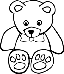 polar clipart teddy bear face pencil color polar clipart