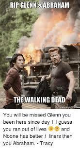 Make A Meme Org - 25 best memes about glenn death glenn death memes