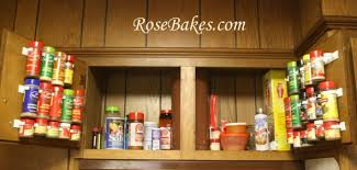 Spice Rack Storage Organizer Wfmw The Best Way To Organize Spices Ever Rose Bakes