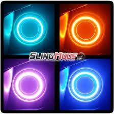 Halos Around Lights Polaris Slingshot Led Halo Headlight Kit