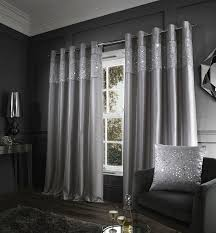 Black Eyelet Curtains 66 X 90 Catherine Lansfield Ivory Black Curtains