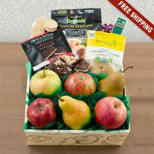 organic fruit gift baskets happy healthy organic fruit snax gift box capalbos gift baskets