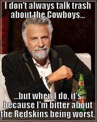 Funny Redskins Memes - redskins suck quickmeme