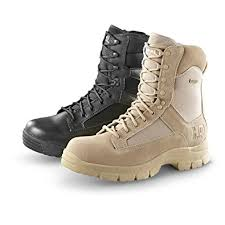 womens tactical boots canada amazon com hq issue s waterproof side zip tactical boots shoes