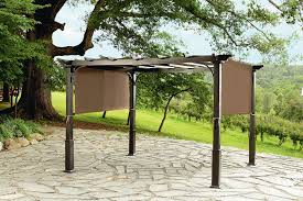 Pergola With Fabric by Garden Oasis 9x10 Pergola With Heavy Duty Posts Outdoor Living
