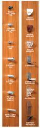 Kitchen Cabinet Shelf Brackets by Kitchen Cabinet Plastic Shelf Lock Supports Monsterlune
