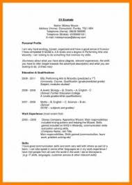 cv resume example templates of a photo cover letter resume sample