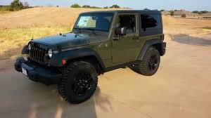 willys army jeep new tank army green 2015 jeep wrangler willy u0027s edition tdy sales