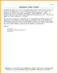 Reference In A Resume Business Reference List Business Proposal Cover Letter Example