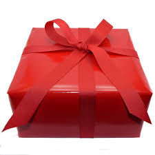 gift wrapped boxes gift wrapped box of a dozen cookies with gift card pinckney
