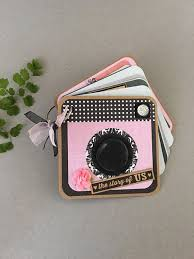 5x5 album mini photo album shaped valentines album ring