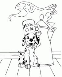dalmation coloring pages coloring