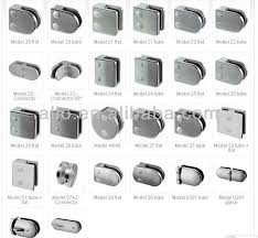 Banister Fittings Stainless Steel Handrail Fittings Round Clips For Glass Clip Frame