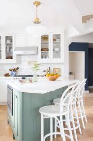 Pictures Of Kitchens With White Cabinets And Black Countertops Our Modern English Country Kitchen Emily Henderson