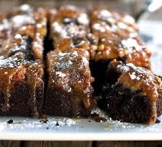 chocolate pb banana upside down cake recipe pinch of yum