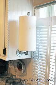 kitchen towel holder ideas 7 diy industrial pipe projects from hardware store plumbing aisle