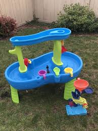 step 2 rain showers splash pond water table step2 rain showers splash pond water table baby kids in olympia wa