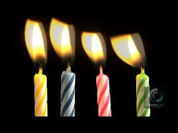 birthday candles birthday candles blowing out motion stock footage
