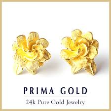 gold earrings for prima gold japan rakuten global market gold pierced