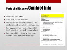 Reliable Resume