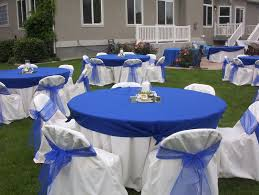 Blue Wedding Centerpieces by Bridal Style And Wedding Ideas Glamour Wedding With Perfect Royal