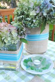 summer table setting and frogmore stew noble vintage