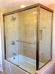 Shower Hinged Door Frameless Bathtub Doors Pivot Tub 72 Inch Wide Sliding Shower