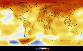 World Temperature Map October by Nasa 2009 Second Warmest Year On Record End Of Warmest Decade